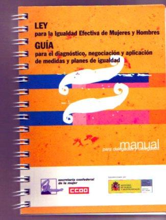 Guía de Comisiones Obreras para la aplicación de los Planes de Igualdad
